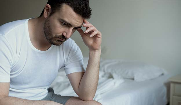 Man distressed of having erectile dysfunction What is Erectile Dysfunction | Erectile Dysfunction: An Overview | Apple Cider Vinegar For Erectile Dysfunction: Fact or Fiction?