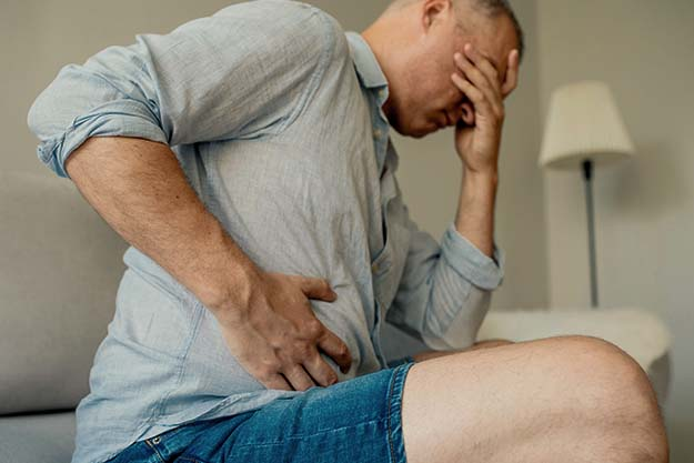 Men constipated and tired | Precautions and Side Effects | Cabergoline: Is It Good For Sexual Health?