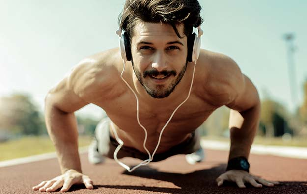 Men doing push up for better lifestyle | Other Ways to Treat ED | Apple Cider Vinegar For Erectile Dysfunction: Fact or Fiction?