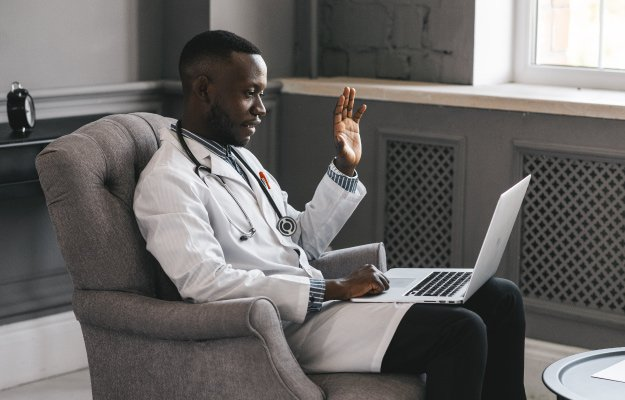 a doctor is having a video call with patient - ca | What is Telehealth? And What Are The Benefits | What is Telehealth?