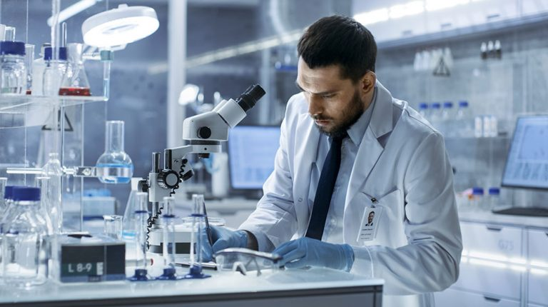 A senior pharmacist doing medical research in the lab   Feature   FUTURE OF MEDICINE - Where is Medicine Going in the 2020s