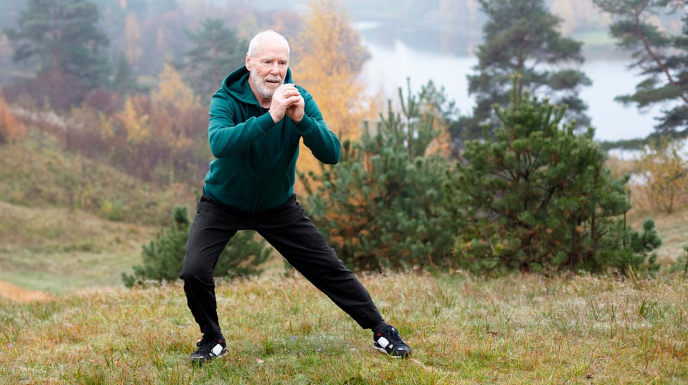 healthy-mature-man-exercising-side-lunges-outdoor-mountain-during-winter   Feature   5 Foods to Increase Stamina