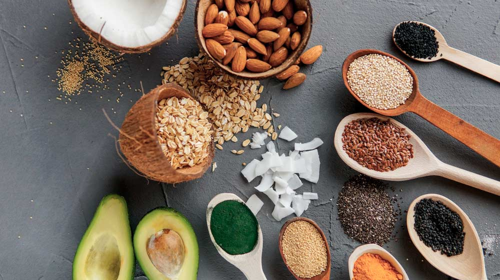 healthy-post-workout-food-avocado-nuts-coconut-oil-chia-flax-oatmeal-ss | Post-workout Nutrition: What Should I Eat After Exercise? | Post-Workout Nutrition Foods