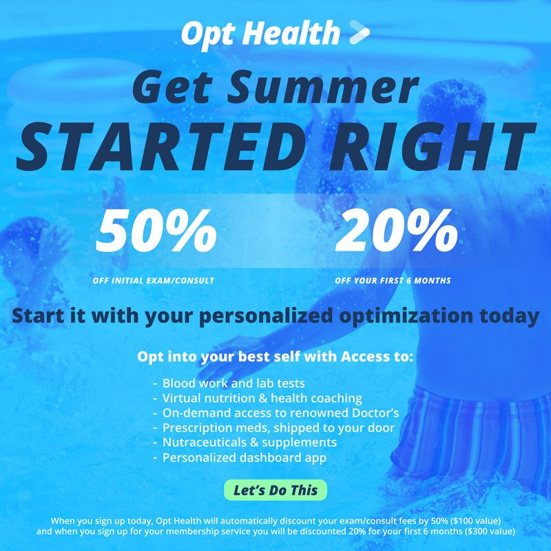 Get Summer Started Right! Let's Do This