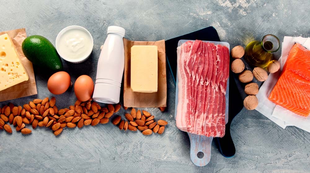 keto-diet-recommended-food-meat-fish-nuts-dairy-eggs-cream | feature | What Is a Well Formulated Keto Diet Meal Plan?