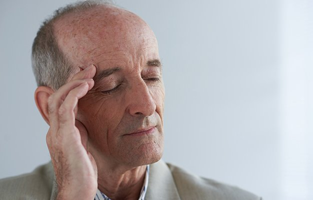 A bald old man stress   9 Tell-Tale Signs of Nutrient Deficiency in Older Adults