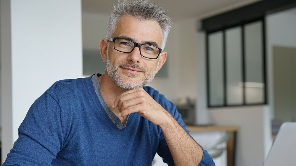 A portait of handsome middle aged man   Feature   How Can Telomeres Affect Aging?