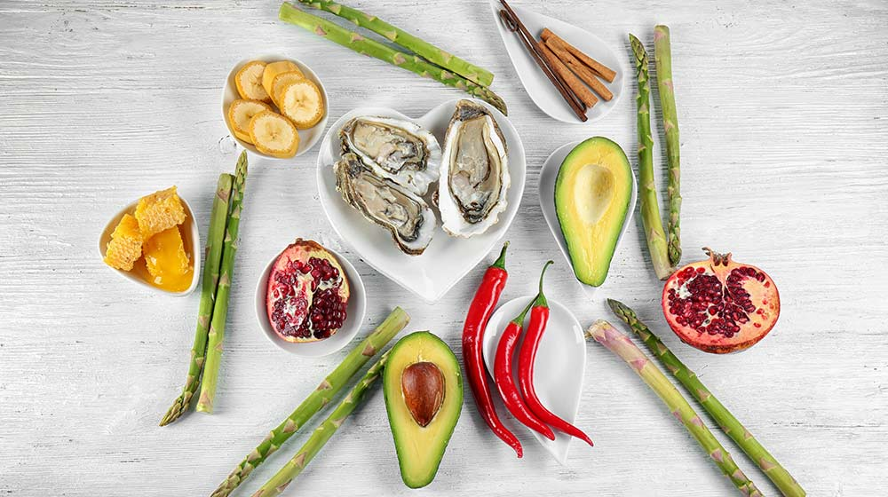 Food good for man health, oyster, avocado   Feature   8 Testosterone Killing Foods and 5 That Help Boost It
